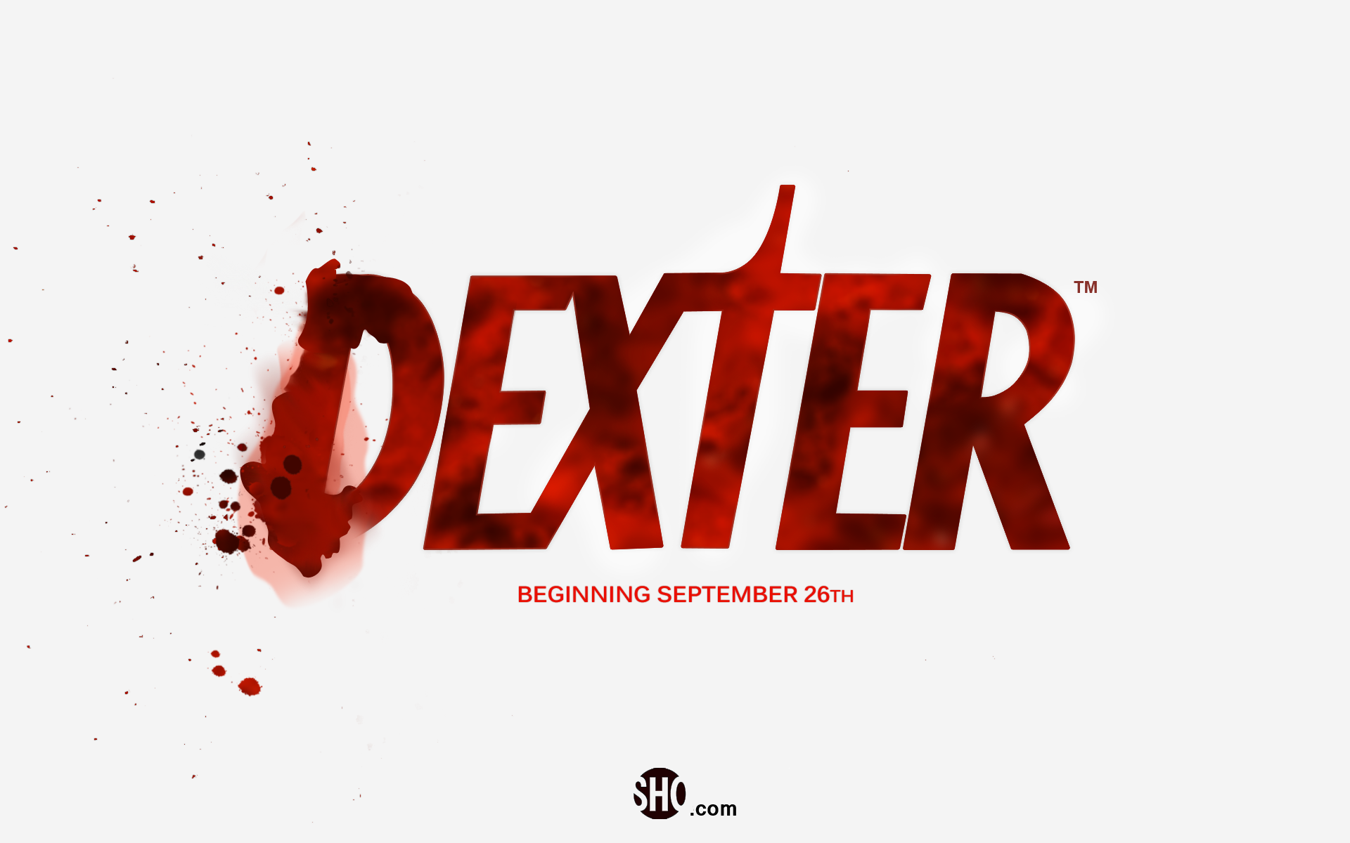 Dexter Logo And Titles Fonts In Use Title Font Dexter Tv Show Logos