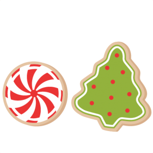 christmas cookies scrapbook clip art christmas cut outs for cricut rh pinterest com christmas sugar cookies clipart christmas cookie clip art free printable
