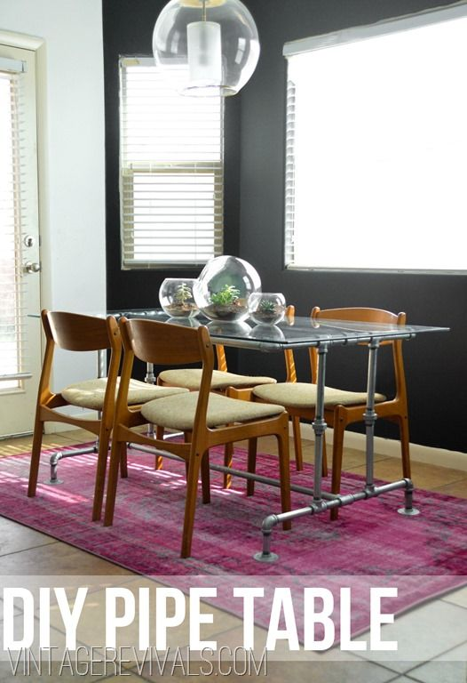 how to build a table out of metal conduit pipe pinterest pipes