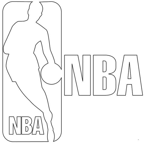 Nba Logo Coloring Pages To Print Coloring Pages Sports Coloring Pages Coloring Pages To Print