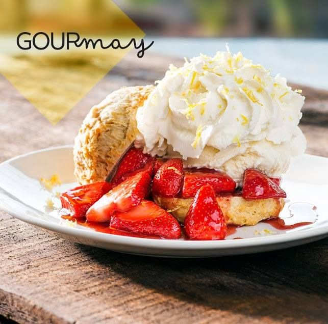 California Pizza Kitchen Atlantic Station: California Pizza Kitchen Has Amazing Strawberry Shortcake