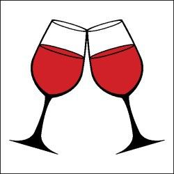 Wine Glass Clipart #cheers #cRed #BandW | Wine glass, Wine, Clip art