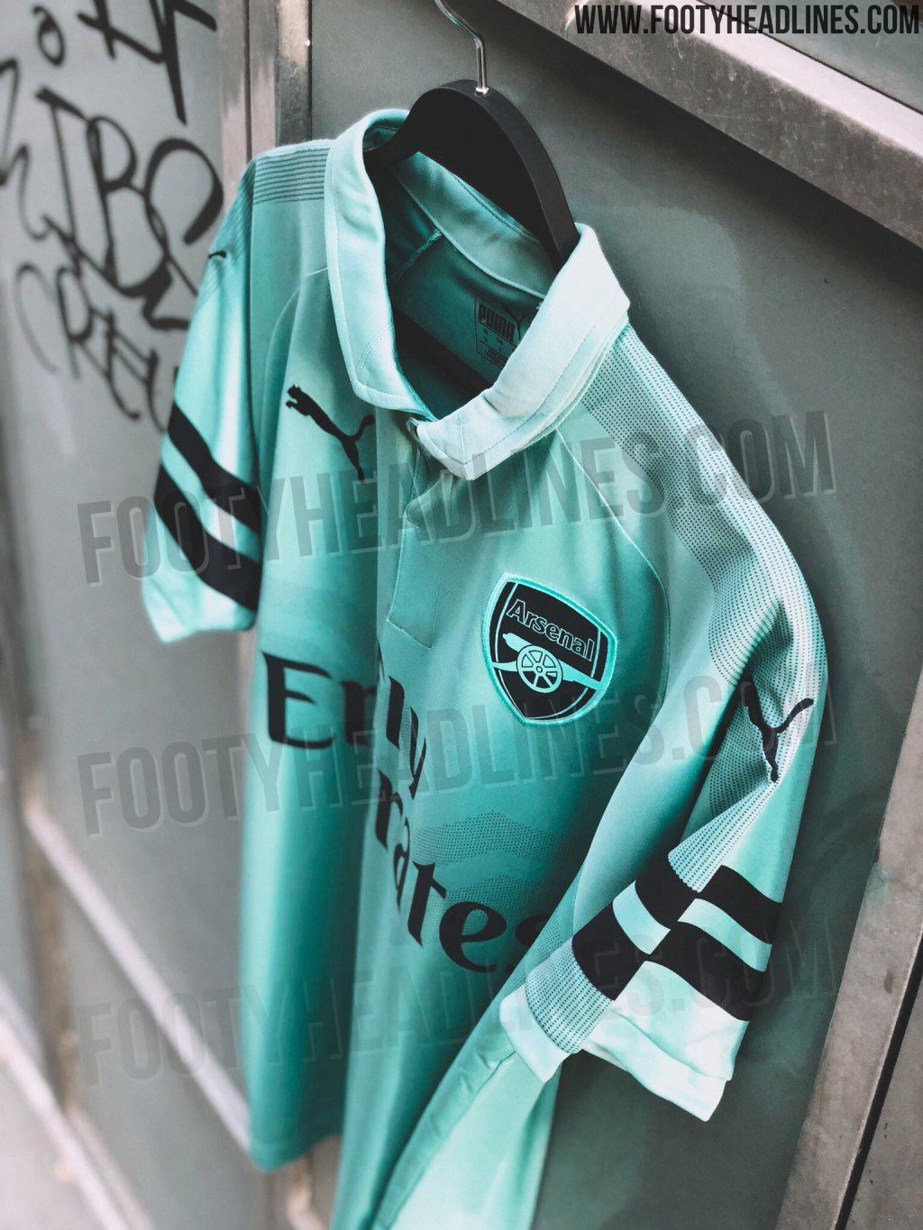 24ab5e0b501 Arsenal 18-19 Third Kit Leaked - Footy Headlines | jersey | Arsenal ...