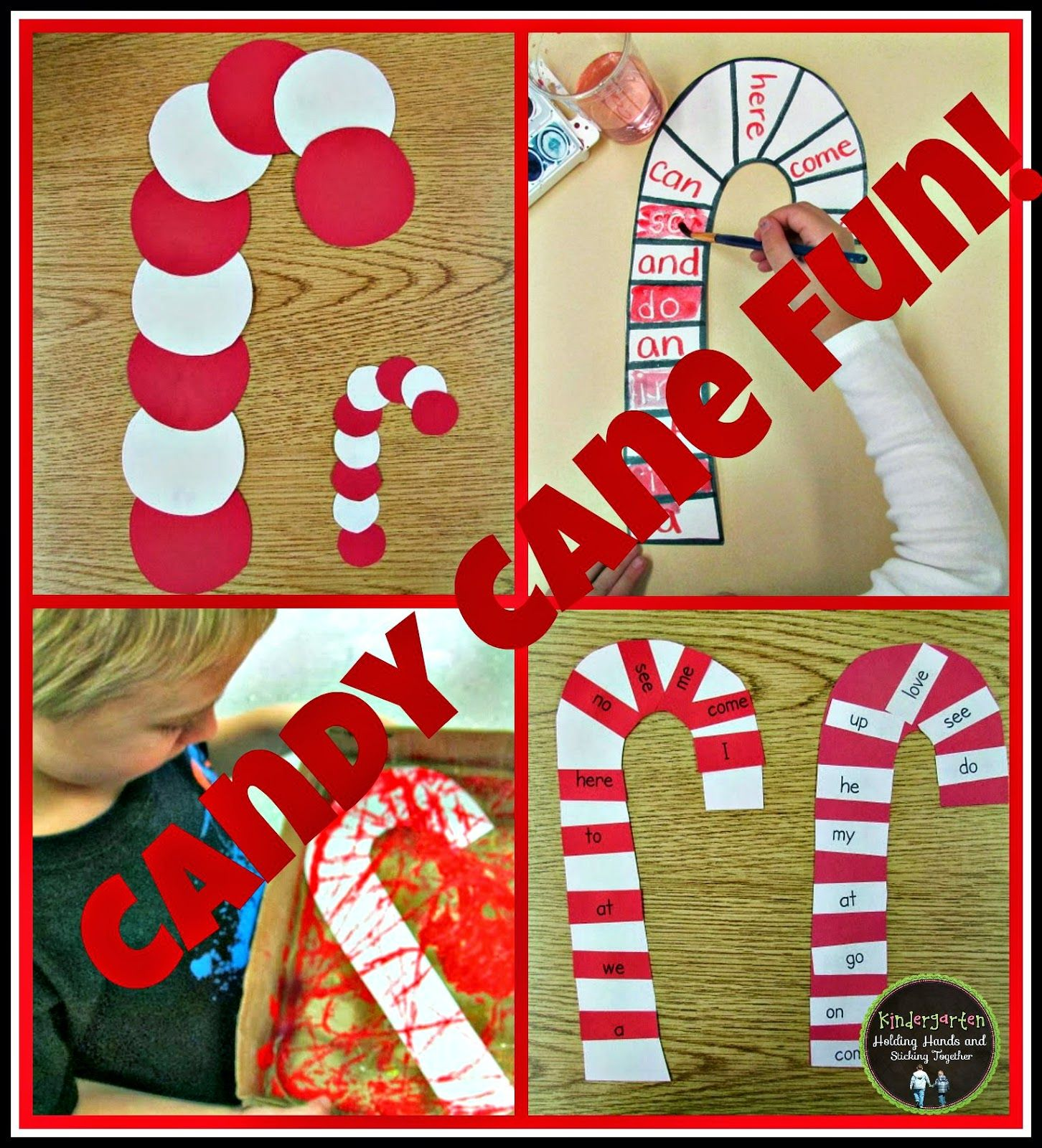 Candy Cane Fun! Christmas kindergarten, Candy cane