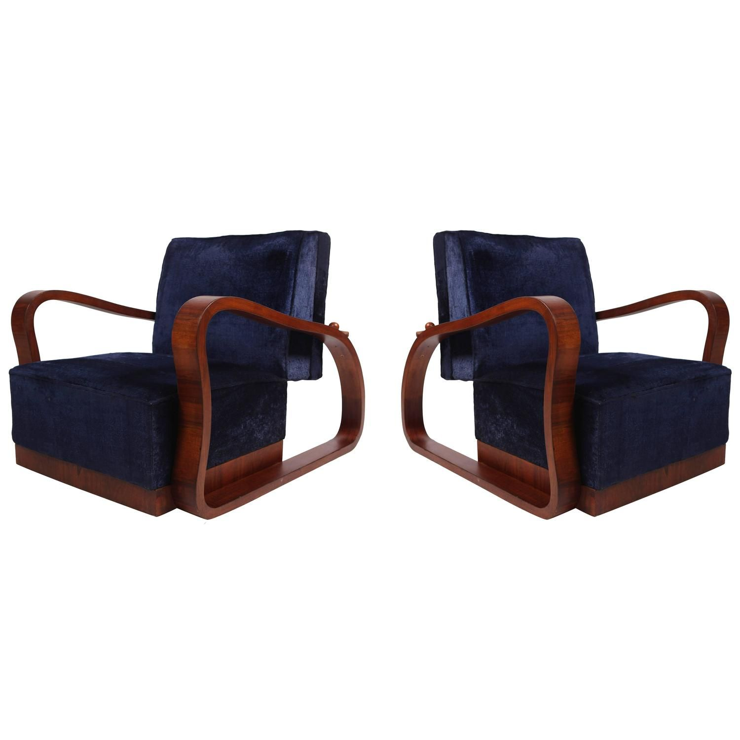Outstanding Pair Of European 1930S Lounge Chairs Outdoor Furniture Alphanode Cool Chair Designs And Ideas Alphanodeonline