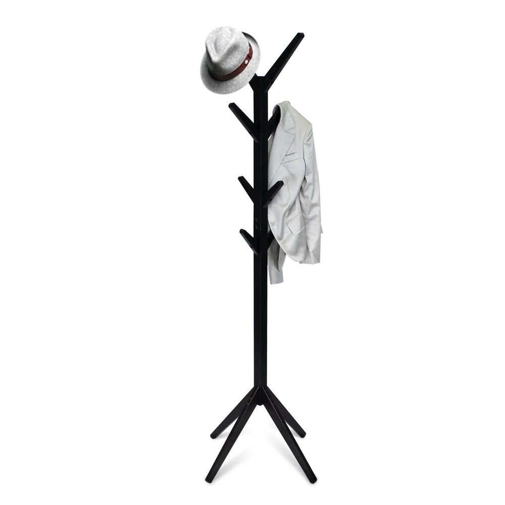 Yaotai Espresso (Brown) Tree-Shaped Coat Rack