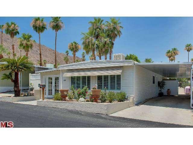 402 Onyx Drive Palm Springs Ca Trulia Mobile Home Exteriors Palm Springs Architecture Palm Springs