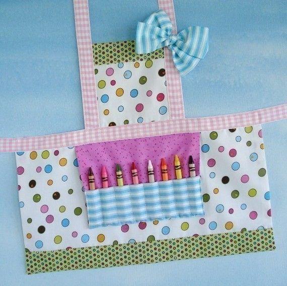 Child Apron Sewing Pattern - Three Sizes - PDF ePattern | Apron ...