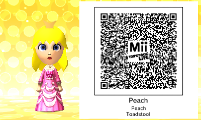 Below are all my QR Codes for Tomodachi Life! Please keep in mind