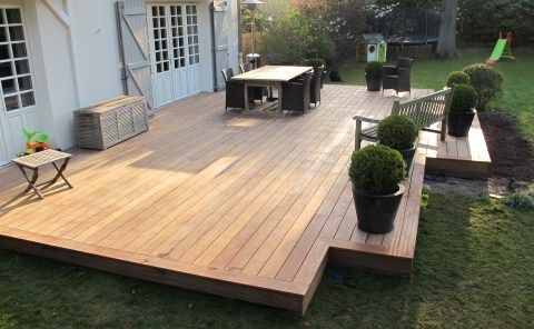 Comment faire soi-même sa terrasse en bois Decking, Patios and