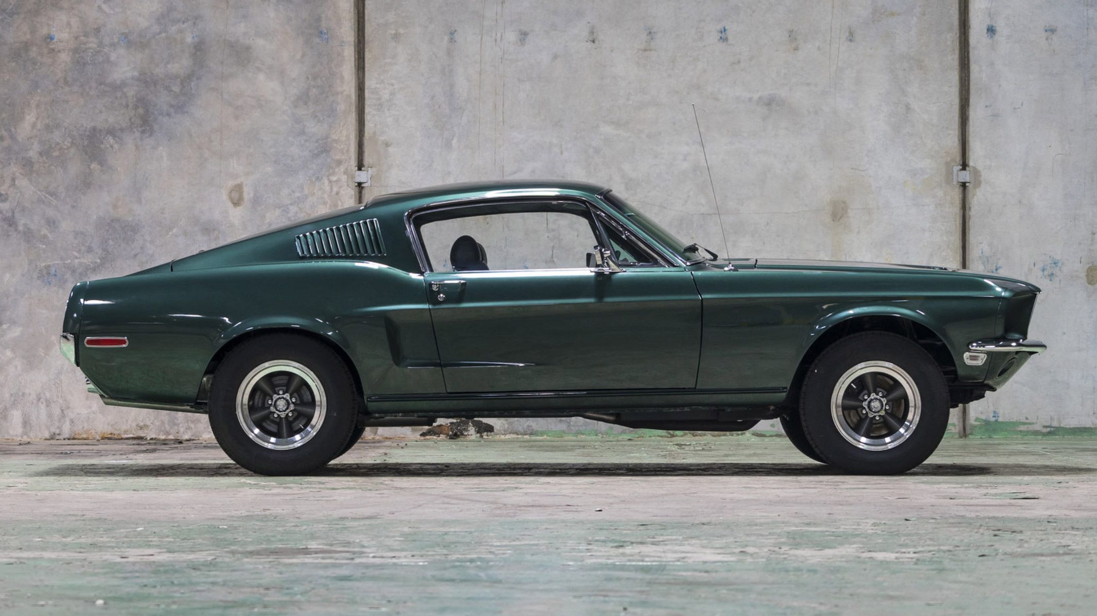 1969 Ford Mustang Fastback Is A Tribute To Steve Mcqueen S