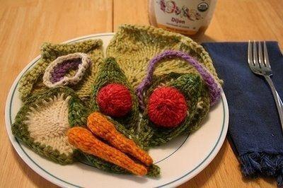 Mabee手機-能看不能吃-用毛線編織的美食
