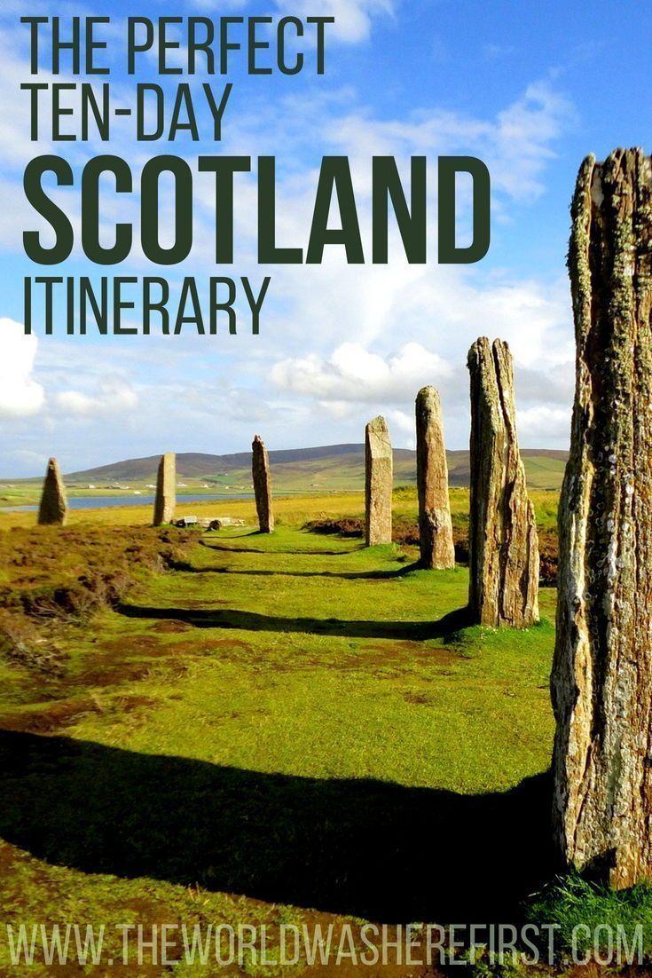 The Perfect 10-Day Scotland Itinerary #travelscotland