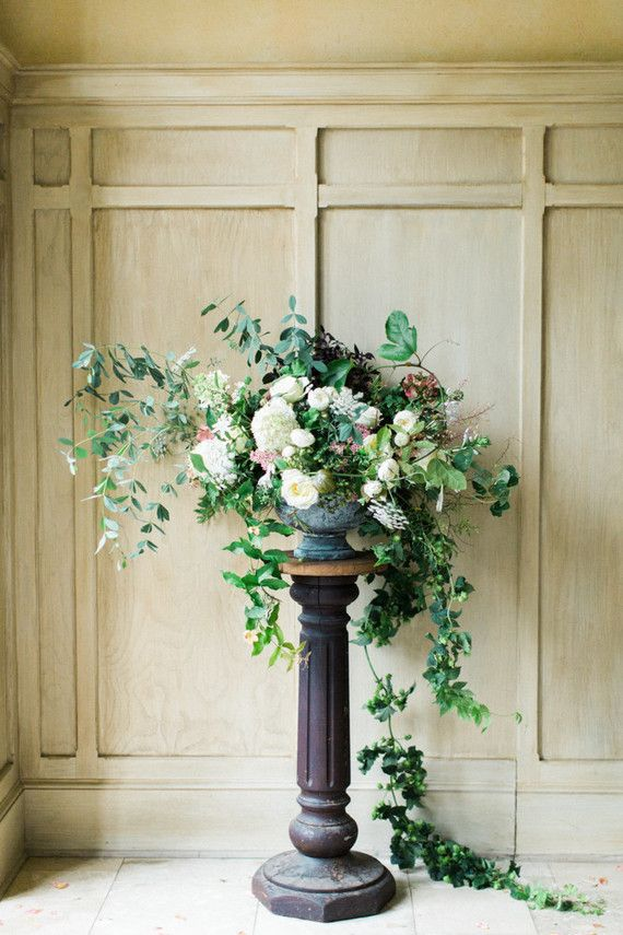 Elegant wedding flowers Romantic Earthy Wedding Inspiration