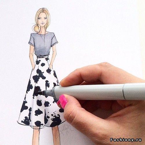 Holly Nichols Fashion Illyustrator With Images Fashion