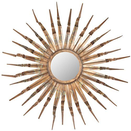Safavieh Home Collection Sun Mirror, 33.1 by 3.9 by 33.1-Inch, Copper Safavieh http://www.amazon.com/dp/B00AKKOTTS/ref=cm_sw_r_pi_dp_14.7vb1NRHQDX