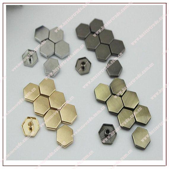 500pcs Metal gunmetal/ light golden/silver /bronze by kesterpurse