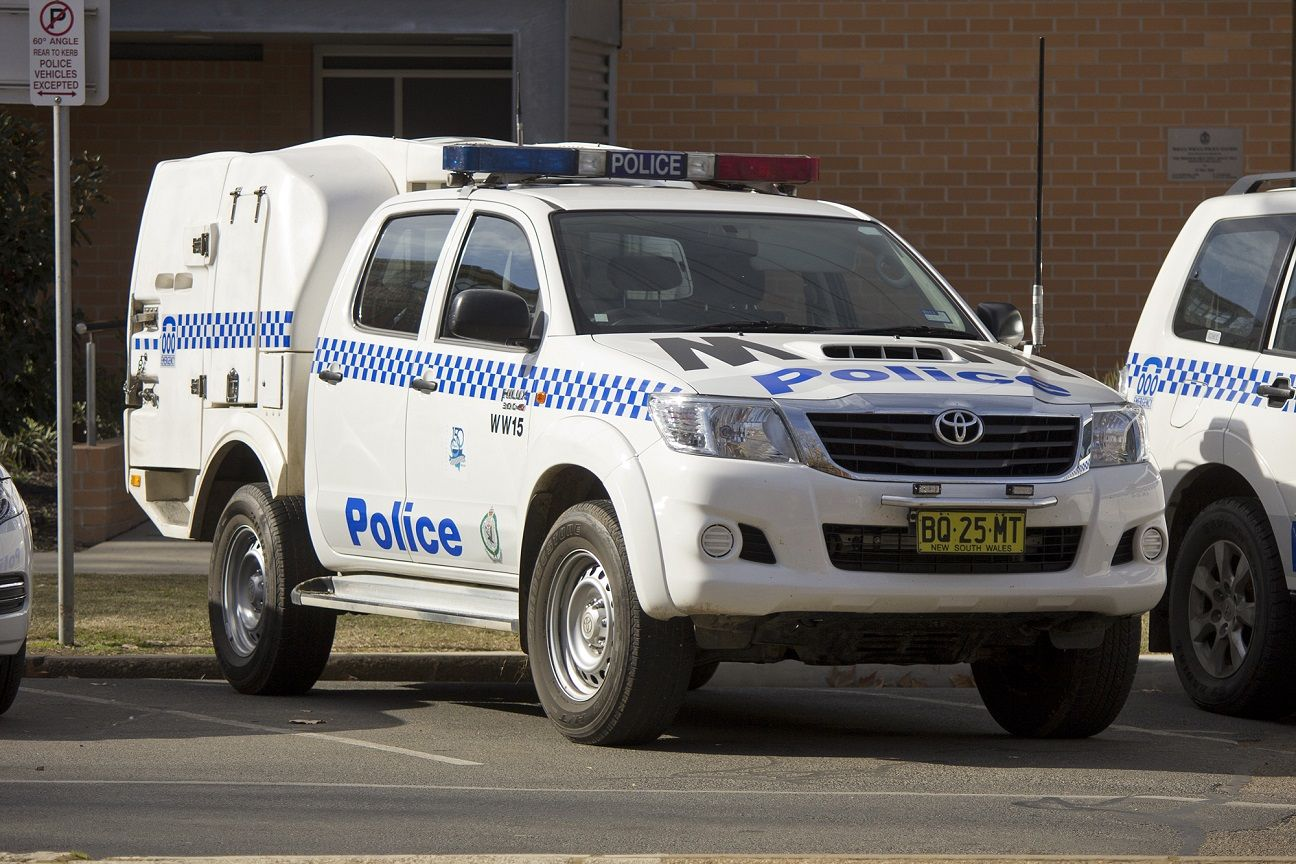 2015 Toyota Hilux New South Wales Police Force (WW15