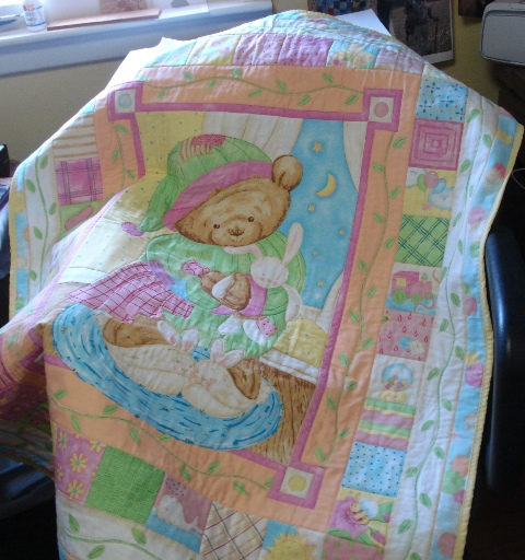 404610d1364344131 Web Sleepy Time Girls Baby Quilt 1 In 2020 Baby Girl Quilts Baby Quilts Quilts