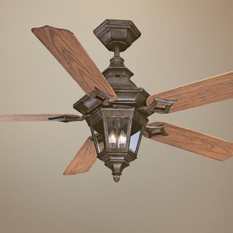 52 Savoy House Chatsworth Walnut Patina Ceiling Fan Lamps Plus