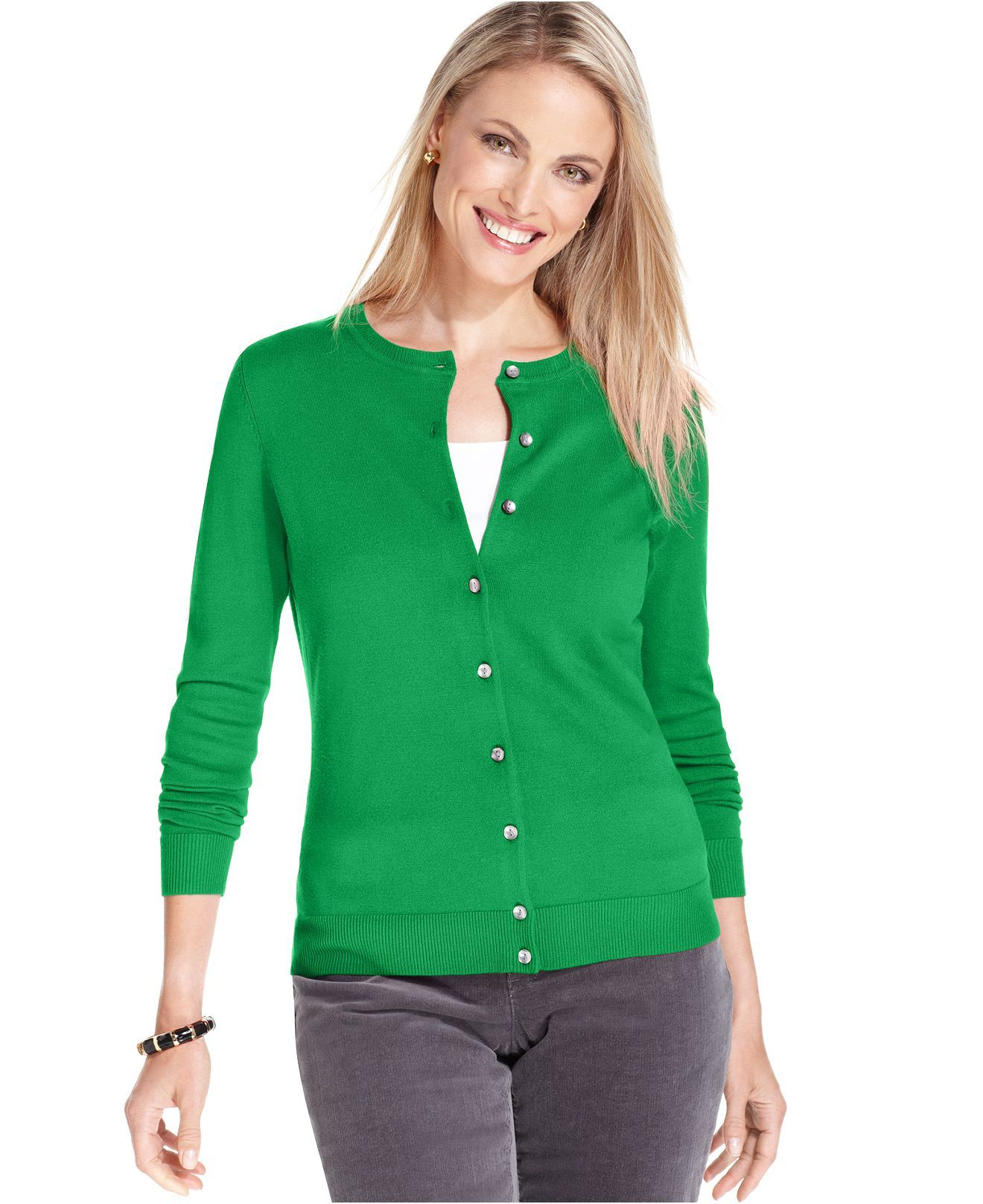 Kelly Green Cardigan | Work Casual | Pinterest | Kelly green and ...
