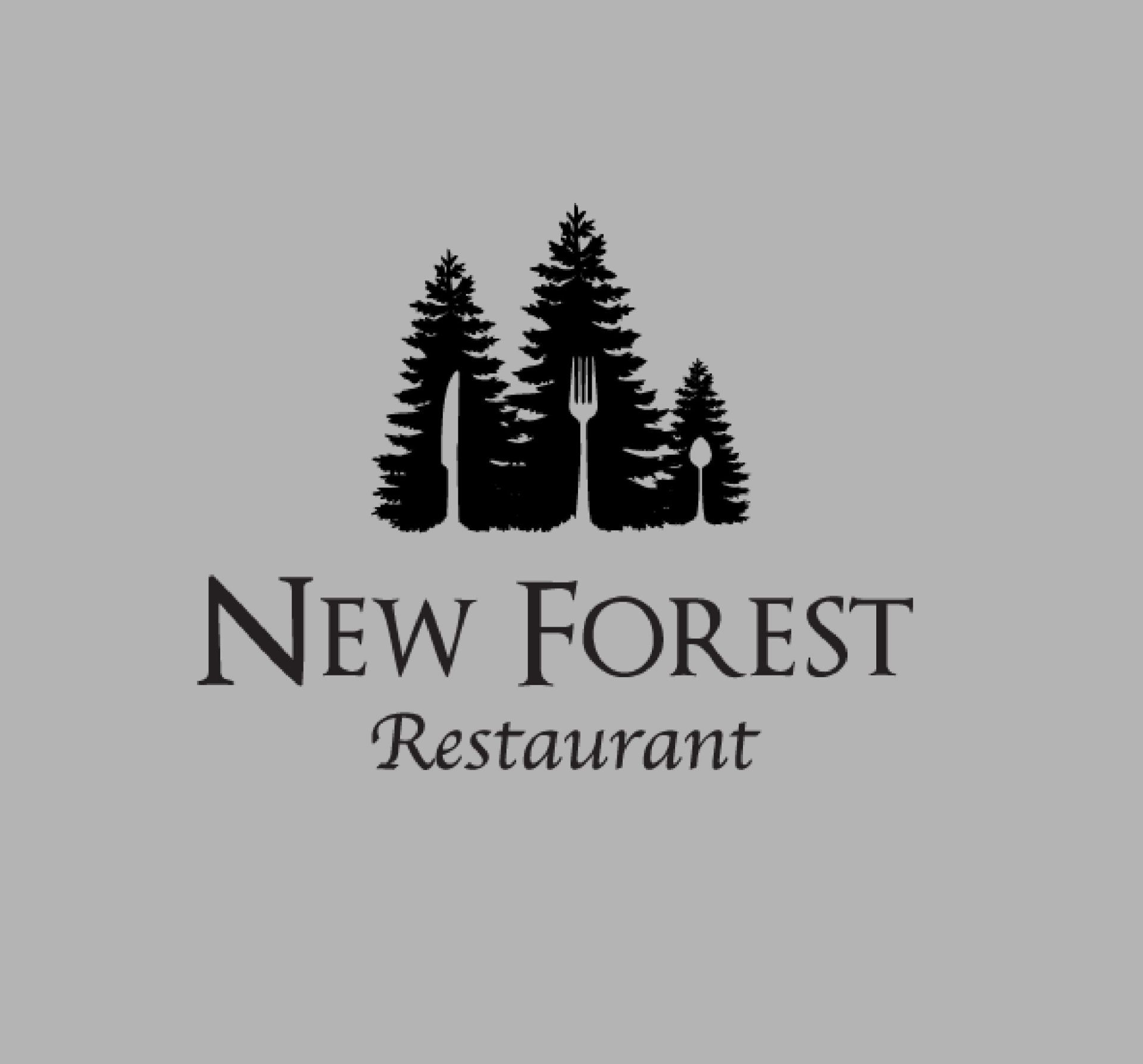 New forest restaurant b o c graphic design logos new forest restaurant buycottarizona Image collections