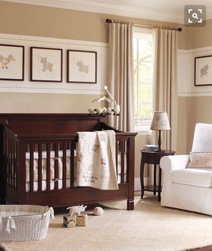 Cuarto bebe ni a cuna bb dormitorio bebe for Habitaciones de bebe nina modernas