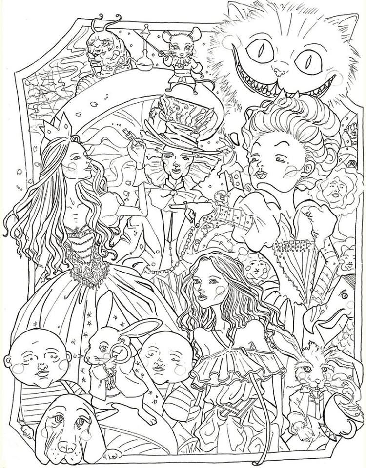 Pin by LaNae W on Art Coloring book Disney coloring