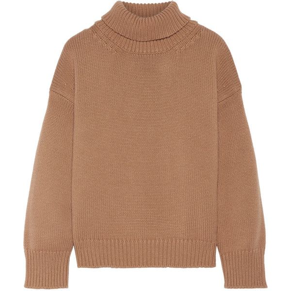 Mansur Gavriel Cashmere turtleneck sweater ($985) ❤ liked on ...