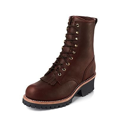 Boots Logger Leather Steel Toe