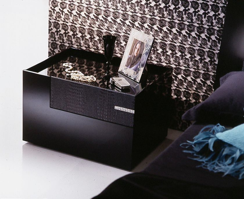 Black Diamond Platform Bed Frame By Rossetto Bedroom is where the