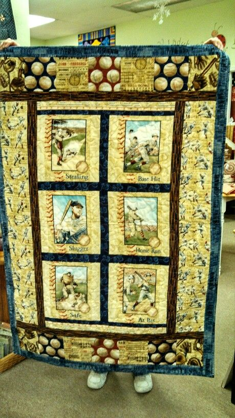 Vintage Baseball Quilt My Creations Baseball Quilt