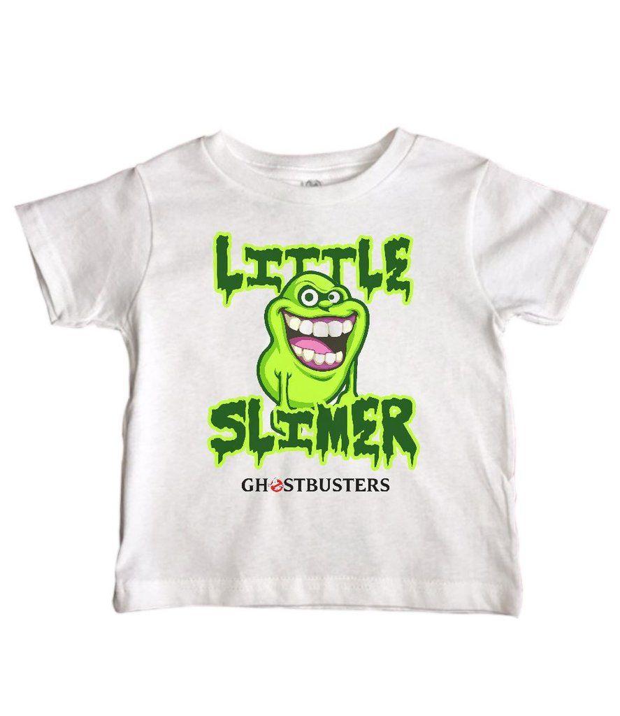 "Ghostbusters Baby One Piece /""Little Slimer/"" Bodysuit"