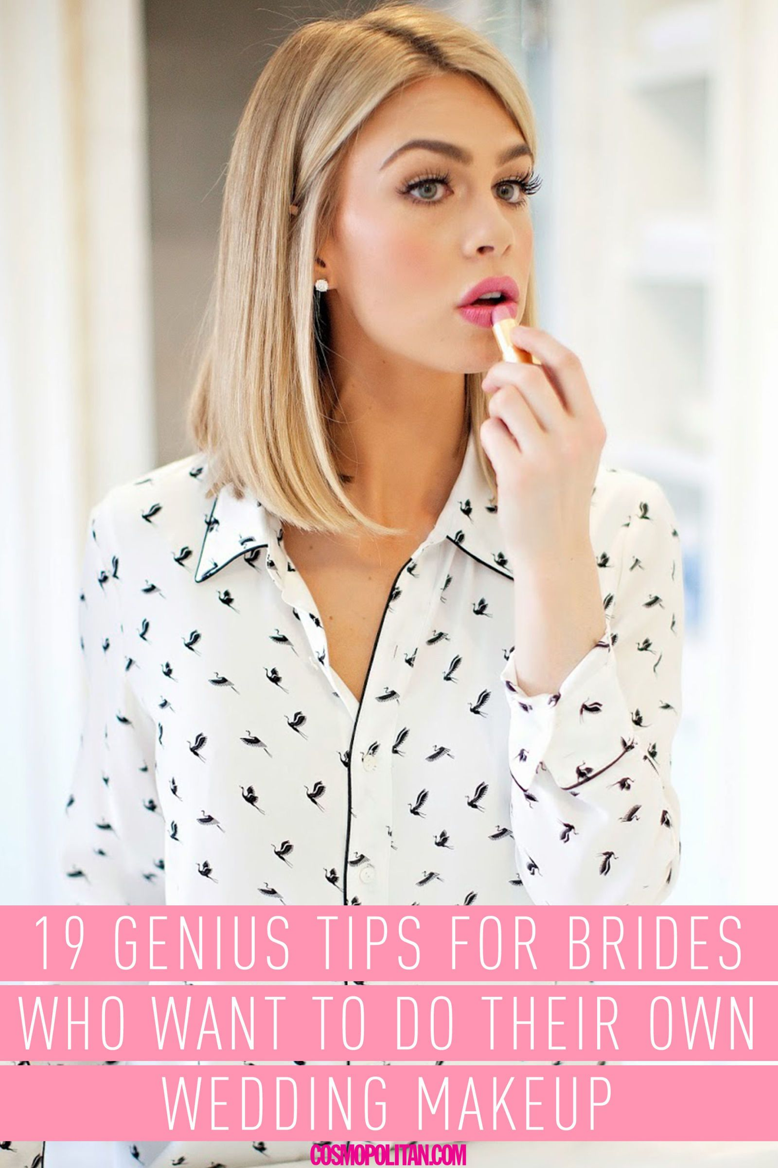 Genius Tips For Brides Who Want To Do Their Own Wedding Makeup