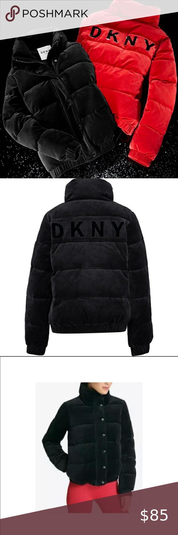 Dkny Sport Velour Puffer Jacket Sz Small Jackets Puffer Jackets Dkny [ 1740 x 580 Pixel ]