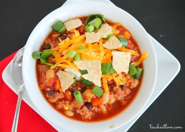 Quinoa Chili | 32 Ways To Eat Quinoa And Succeed In Life
