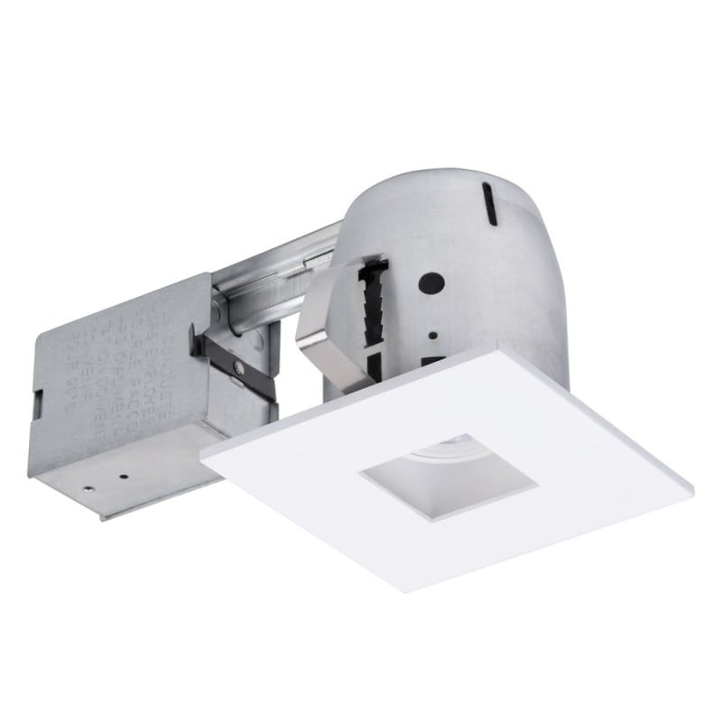 Globe Electric 90652 1 Light Recessed Lighting Kit Includes Trim Housing Can Matte White Recessed Lights Trim And Housing Package Recessed Lighting Kits Bathroom Recessed Lighting Recessed Lighting Trim
