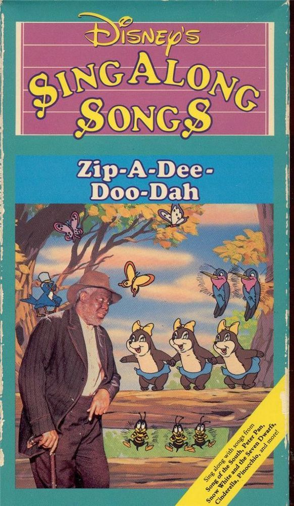 Vhs: disney's sing along songs zip-a-dee-doo-dah | Future gifts for