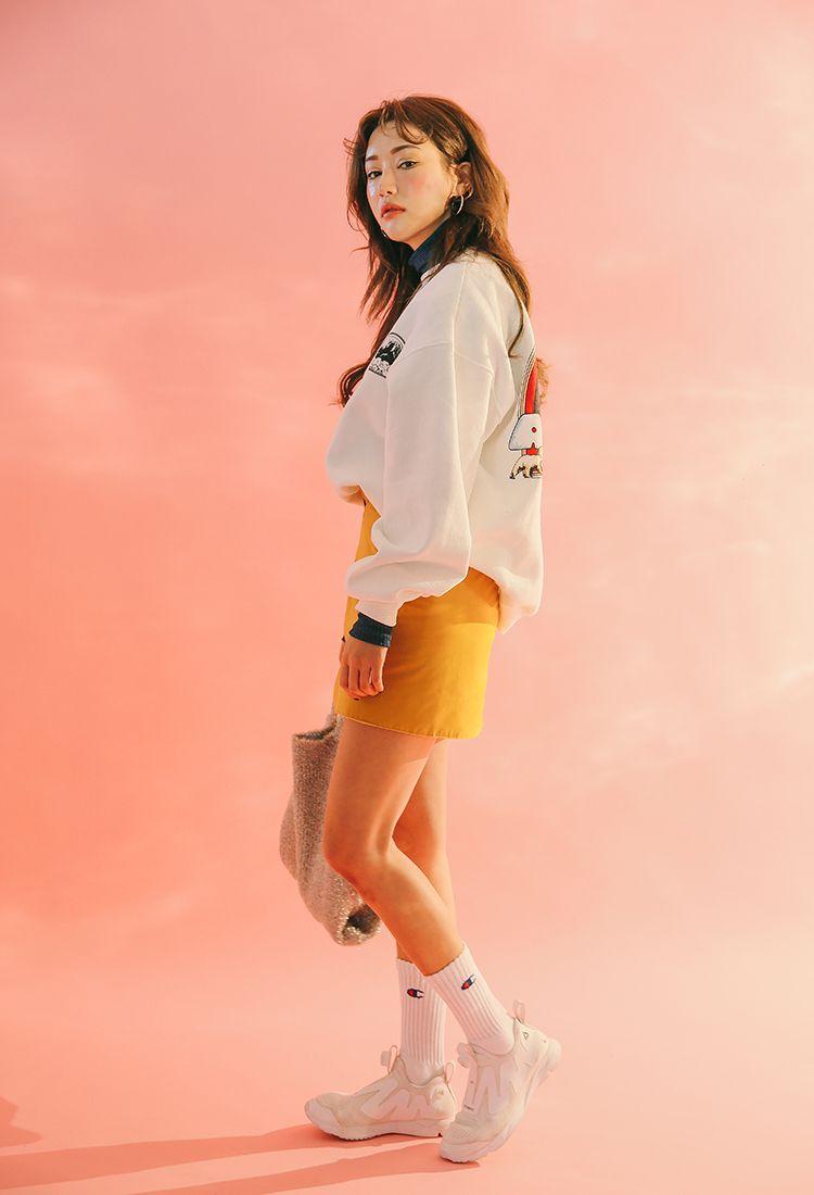 Double Button Mini Skirt | STYLENANDA