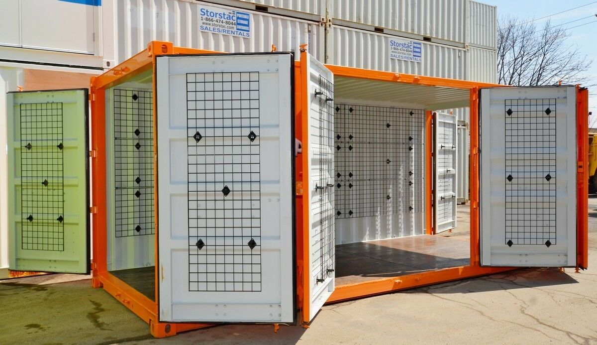 Custom Built Retail Kiosk Built From Brand New 20 Foot Ocean Shipping Container Shipping Container Custom Build Pop Up Shops