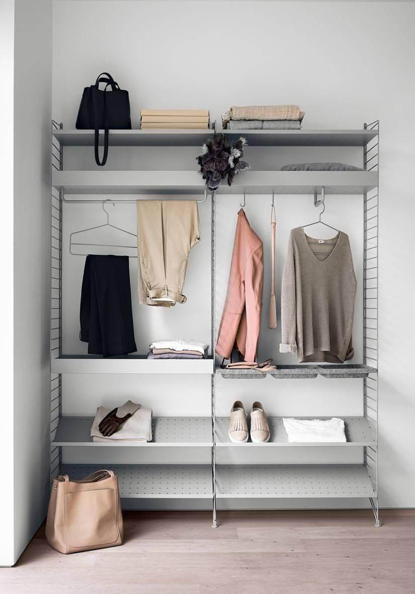 Offene Kleiderschranke Mit System Wohntipps Garderobenhaken