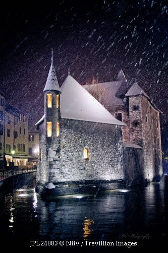 Trevillion Images - fortress-in-river-with-snow