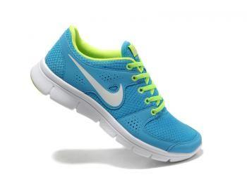 Nike Flex Experience RN Women Running Shoes Sky / Neon 525754-400