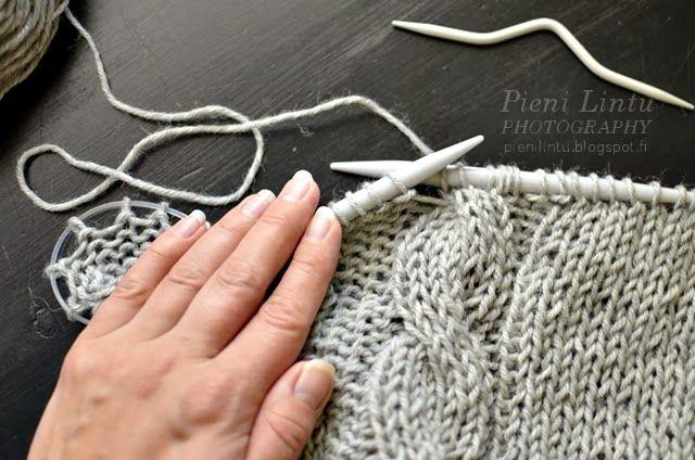 Pieni Lintu: Easy knitted Cardigan - {DIY}
