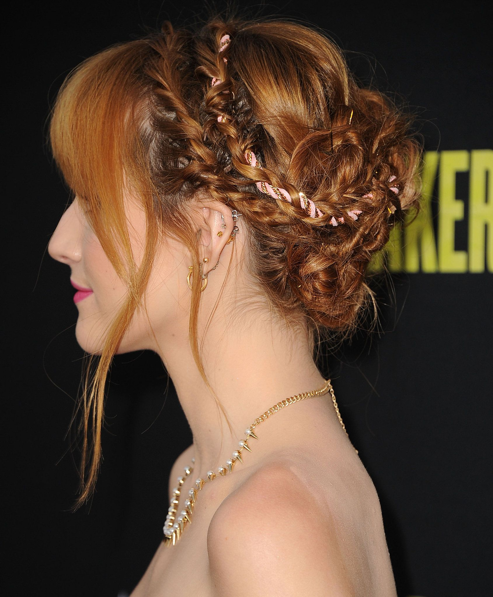 Red Carpet Braids Braids Hairstyles Pictures Braided Hairstyles For Wedding Gorgeous Hair