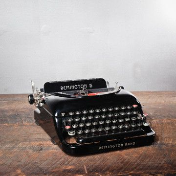 Fab.com | Remington 5 Typewriter