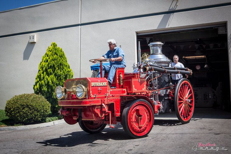 1910 Christie Fire Engine Photos from Jay Leno's Garage on NBC.com