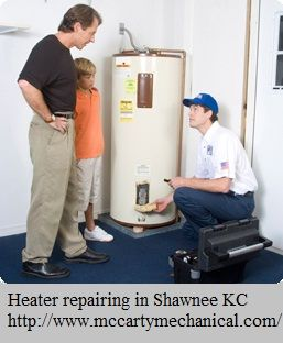 Water heaters are systems that are of great importance to households. And after sometimes all the electronic equipment need regular maintenance. If you are in need of repair/maintenance for your heating equipment in Shawnee (Kansas City) must visit at http://www.mccartymechanical.com/.