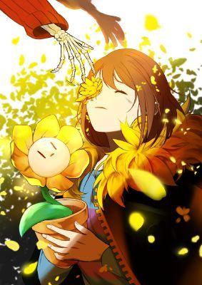 Undertale Flowerfell Secret Garden By Radix Fell Frisk Undertale Aus Song Lyrics Anime Runen Zeichnungsskizzen