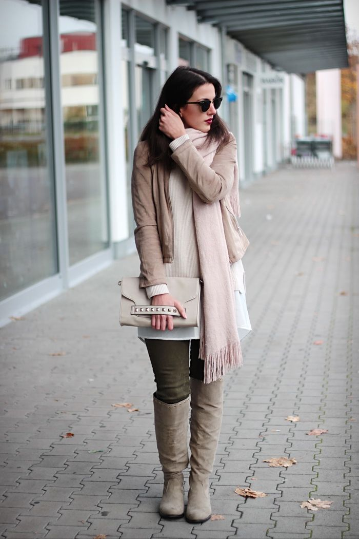 Herbst Outfit Pastell